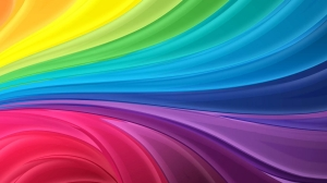 Abstract Rainbow Colours Wallpapers 2
